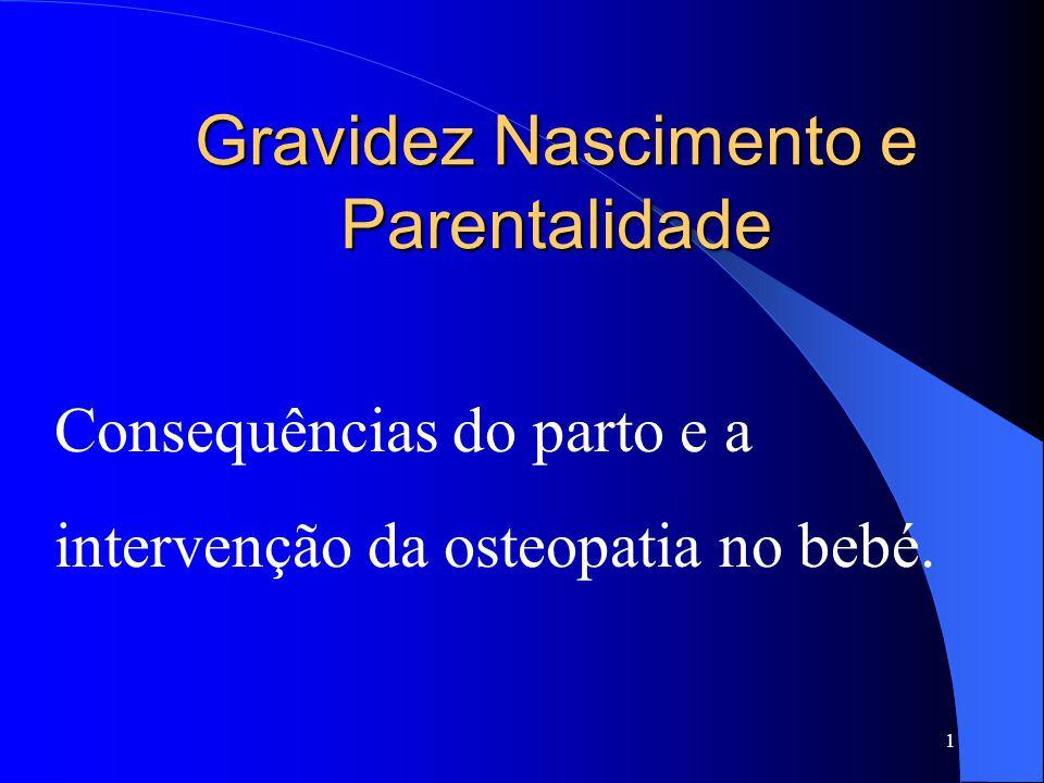 Gravidez Nascimento e Parentalidade Consequências do parto e a intervenção da osteopatia no bebé. 1