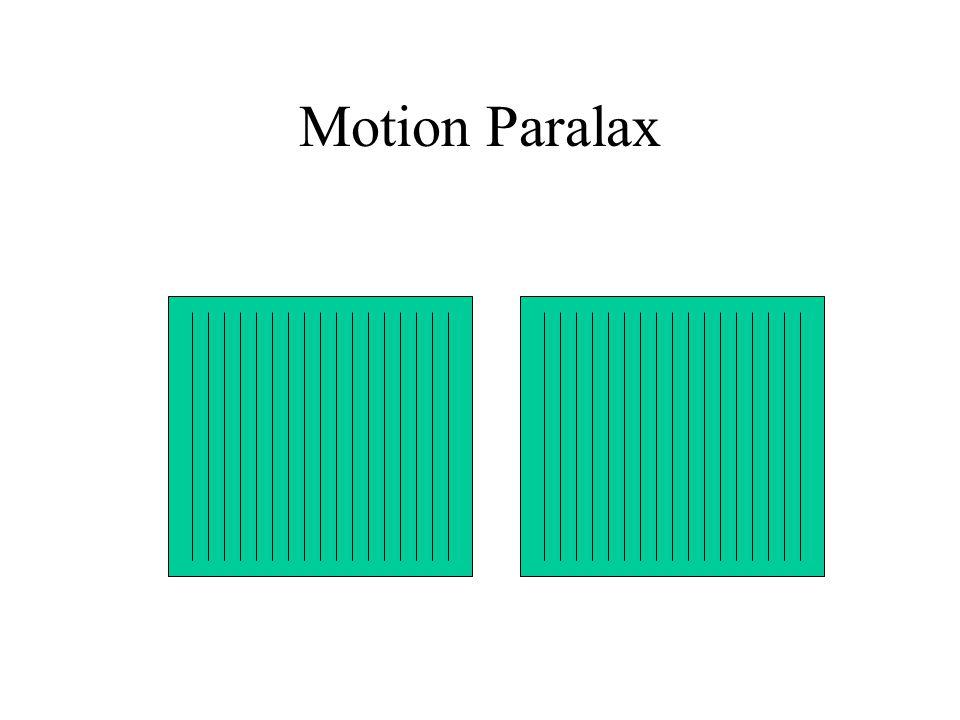 Motion Paralax