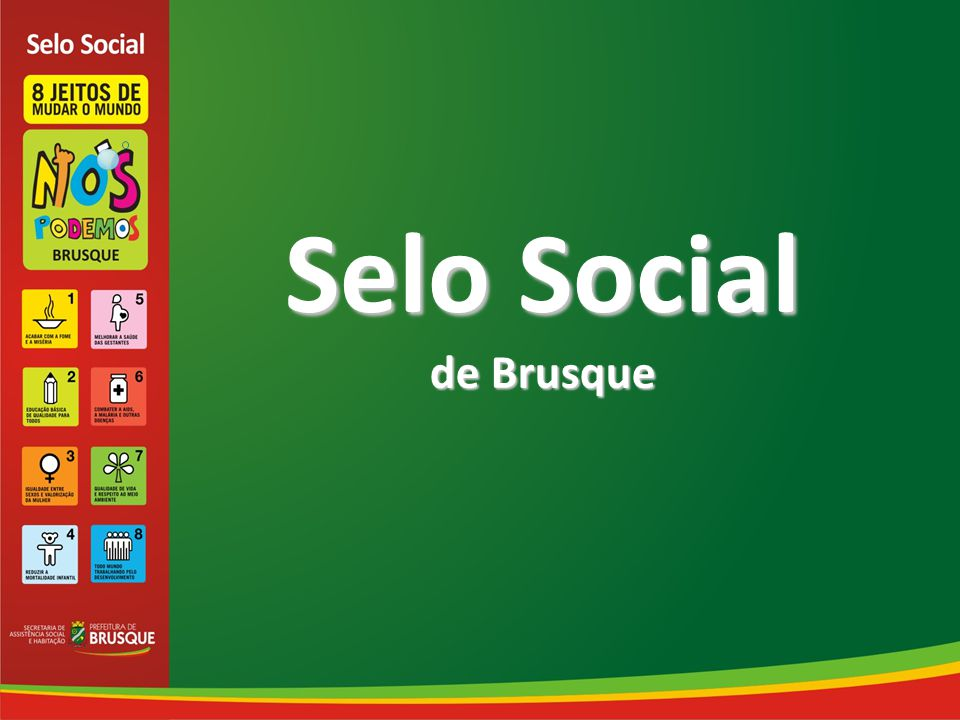 Selo Social de Brusque