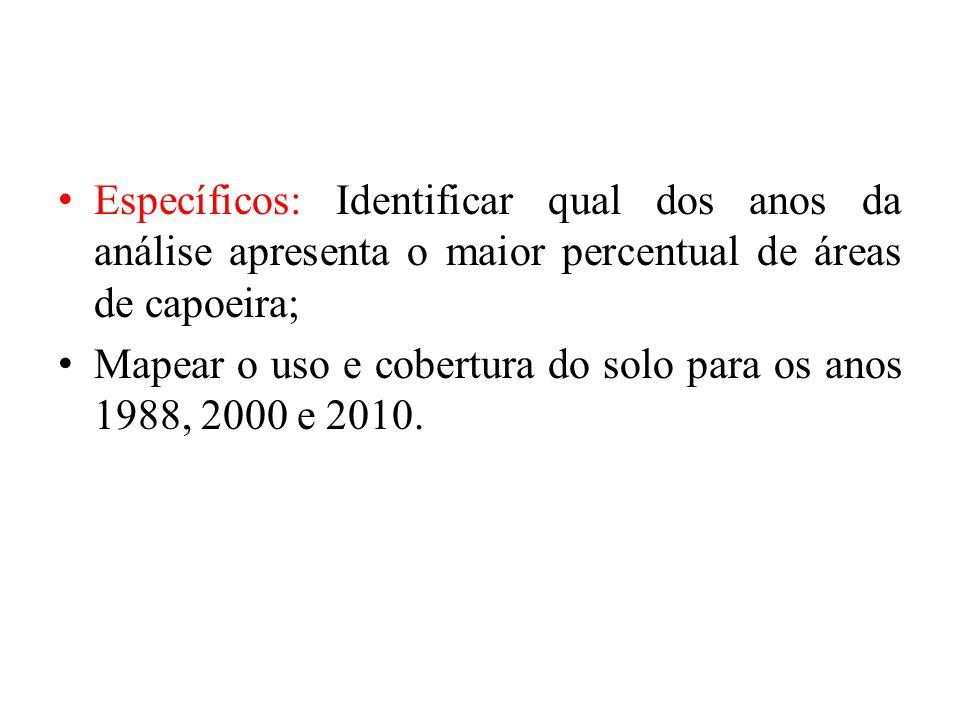 Para o ano 2000, o correspondente a classe antropizada representa 4184 km² e de acordo com a distribuição de solos do município essa classe está sob os Latossolos Vermelho-Amarelo, Podzólico, Latossolo Vermelho- Escuro.
