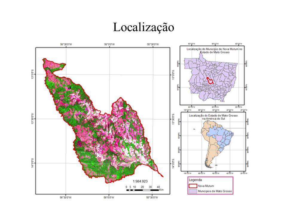 Ocupação 2010 Figura 06 - Mapa de uso e ocupação do solo de Nova Mutum – ano 2000 Fonte: Imagem LANDSAT/TM 5 – ano 2000