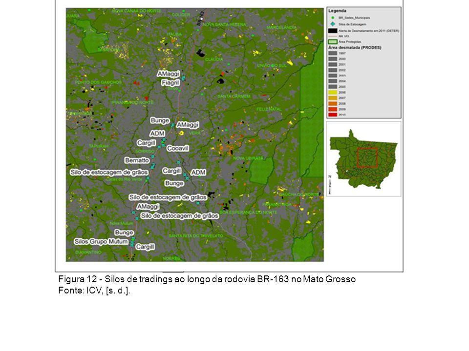 Ocupação 1988 Figura 033 - Mapa de uso e ocupação do solo de Nova Mutum – ano 1988 Fonte: Imagem LANDSAT/TM 5 – ano 1988
