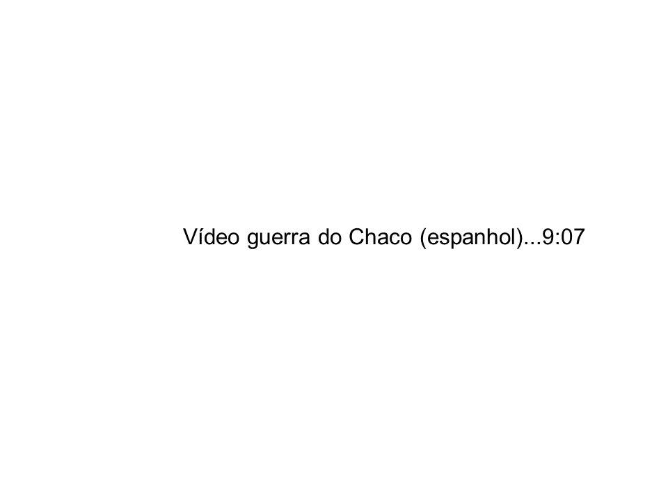 Vídeo guerra do Chaco (espanhol)...9:07