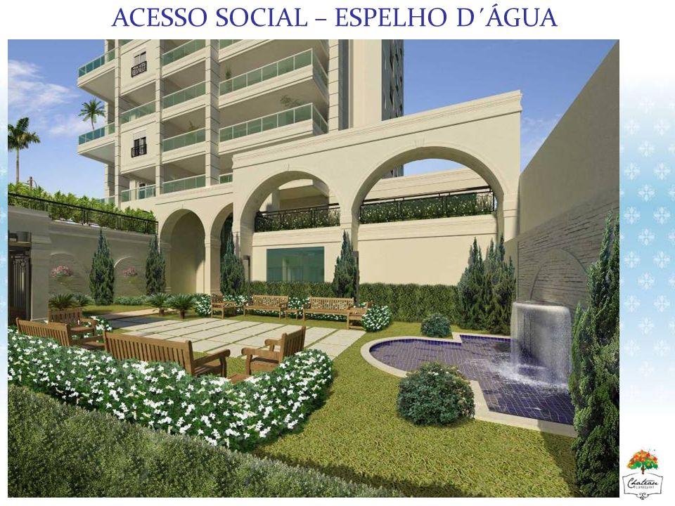 ACESSO SOCIAL – ESPELHO D´ÁGUA