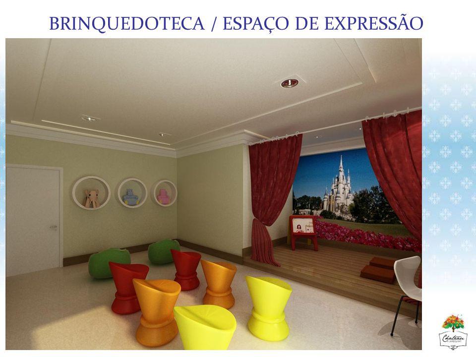 BRINQUEDOTECA / ESPAÇO DE EXPRESSÃO