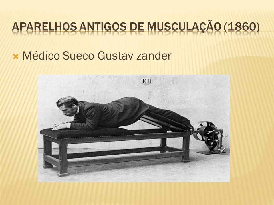  Médico Sueco Gustav zander