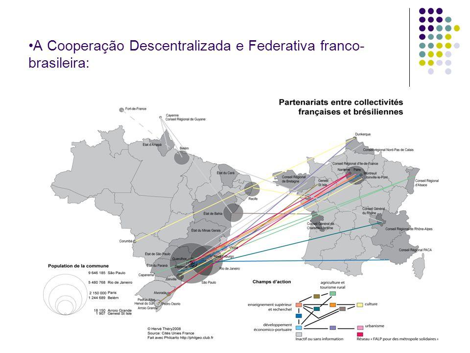 A Cooperação Descentralizada e Federativa franco- brasileira: