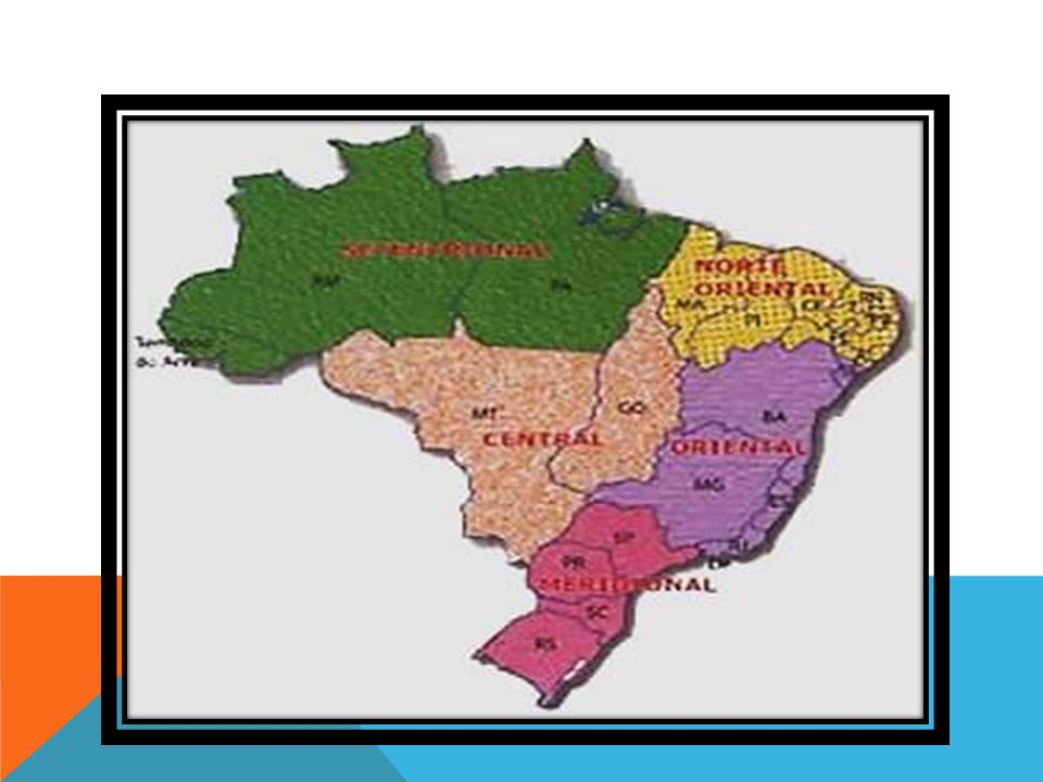Em 1940, o IBGE elaborou uma nova proposta de divisão para o país que, além dos aspectos físicos, levou em consideração aspectos socioeconômicos.