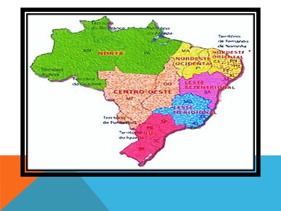 Em 1970, o Brasil ganhou o desenho regional atual.