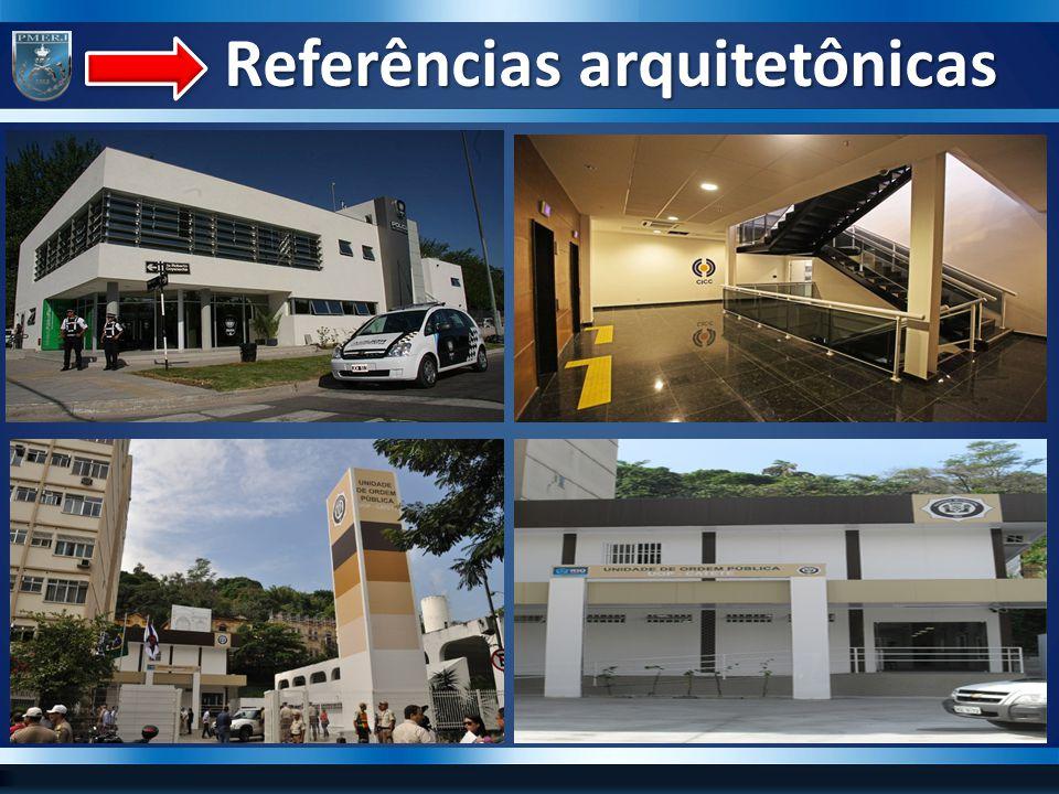 Referências arquitetônicas Referências arquitetônicas
