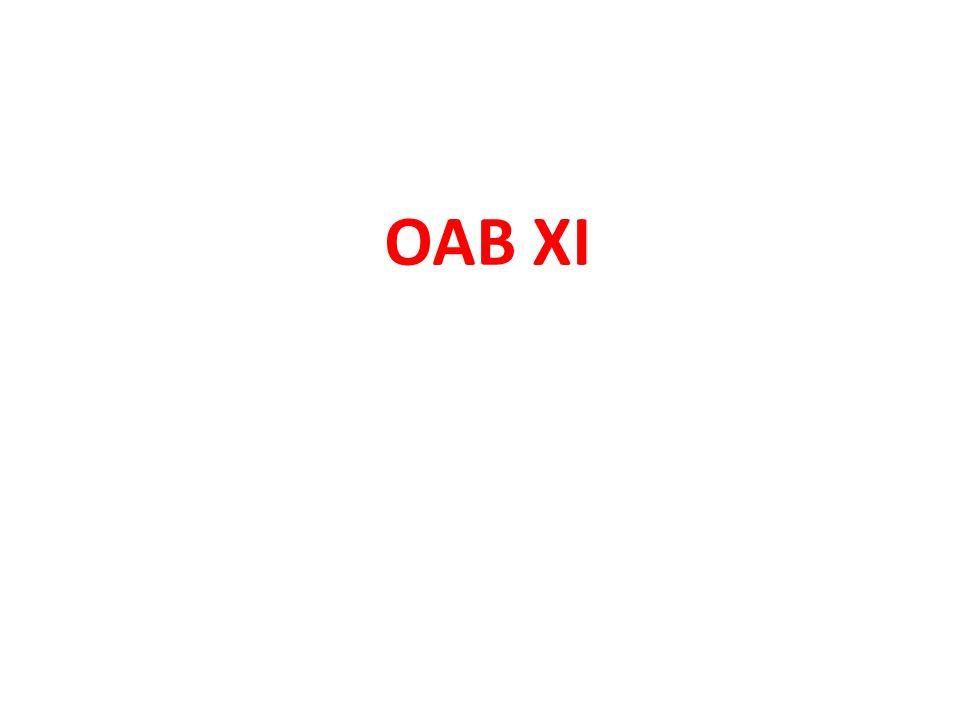 OAB XI
