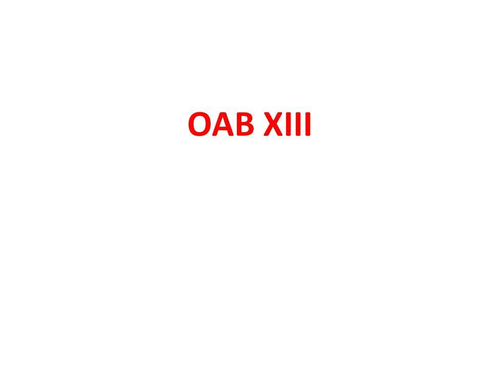 OAB XIII