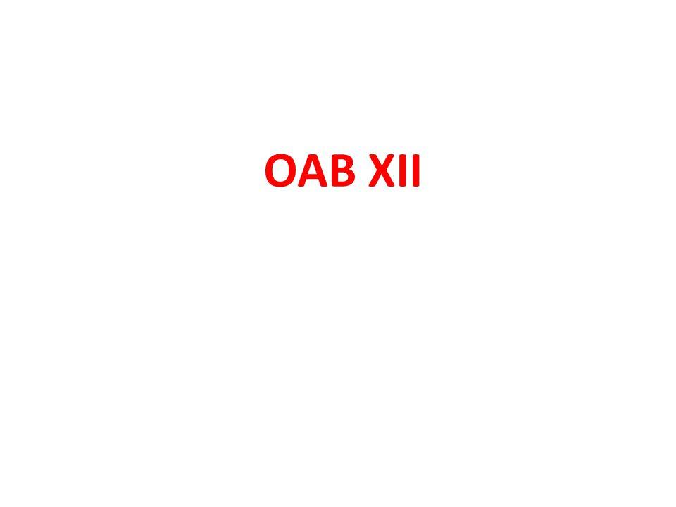 OAB X