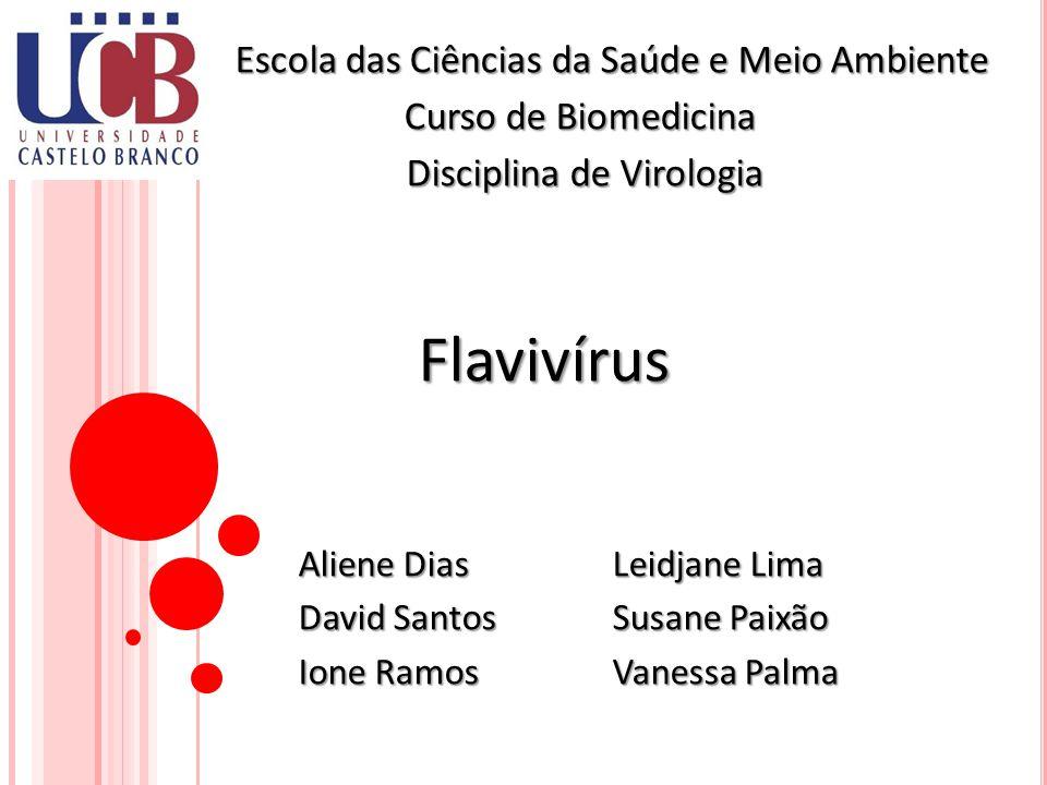 F AMÍLIA F LAVIVIRIDAE Arbovírus (arthropod borne vírus): são vírus que possuem um ciclo biológico que envolve como hospedeiros os vertebrados e como vetores/transmissores artrópodes hematófagos.