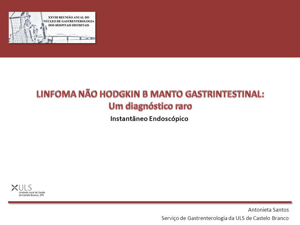 Instantâneo Endoscópico Antonieta Santos Serviço de Gastrenterologia da ULS de Castelo Branco