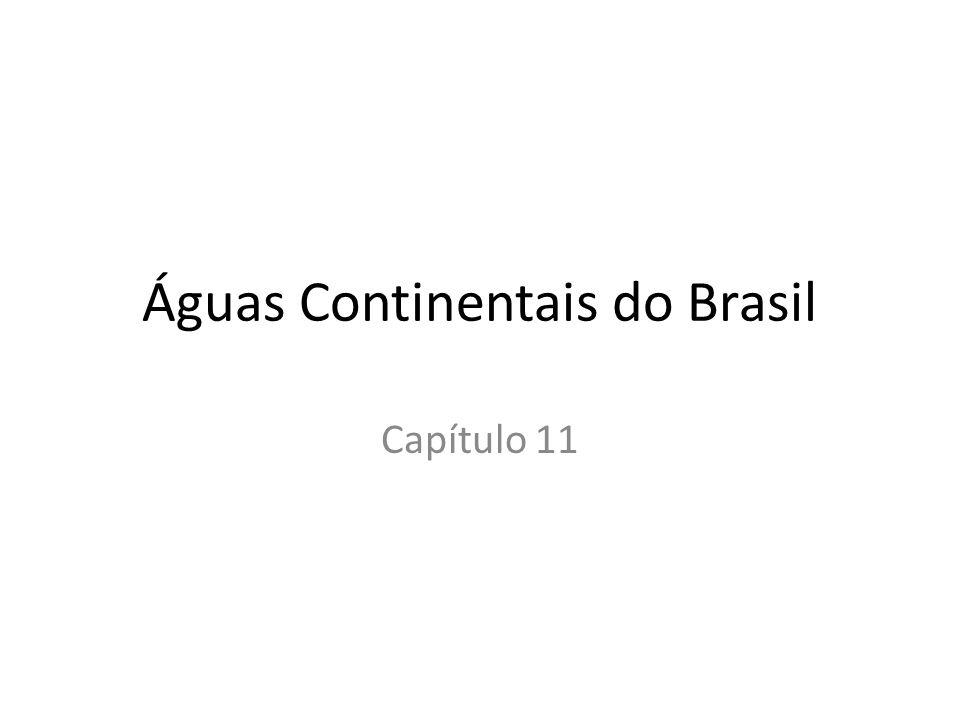 Águas Continentais do Brasil Capítulo 11