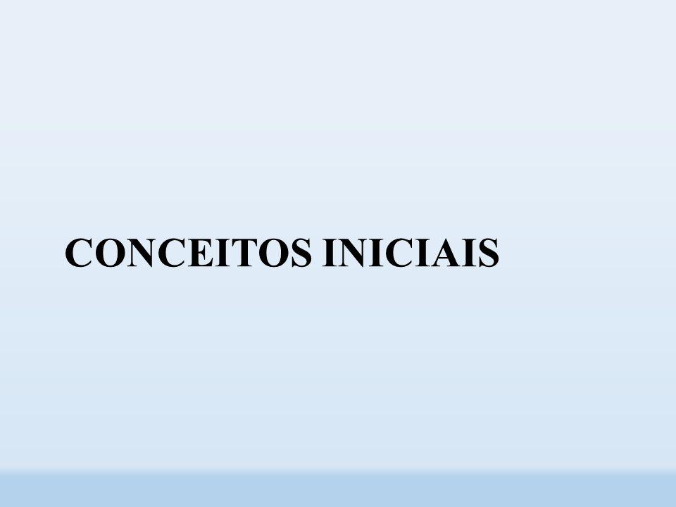 CONCEITOS INICIAIS