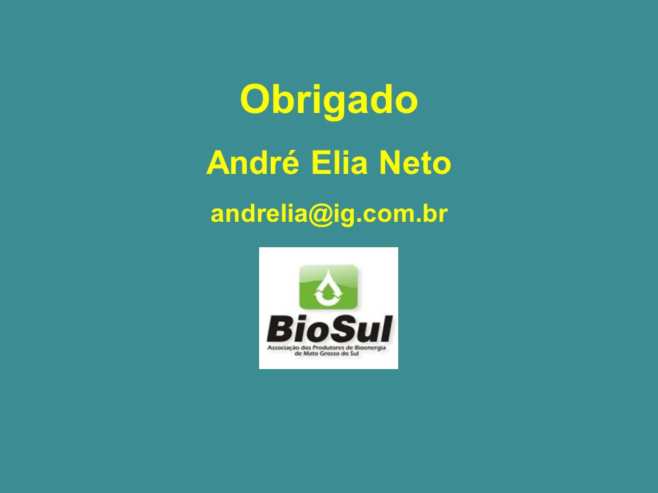 Obrigado André Elia Neto andrelia@ig.com.br