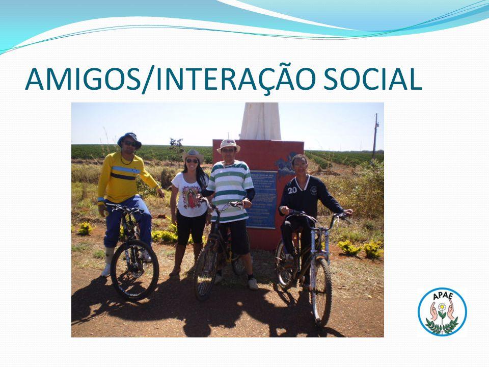 AMIGOS/INTERAÇÃO SOCIAL