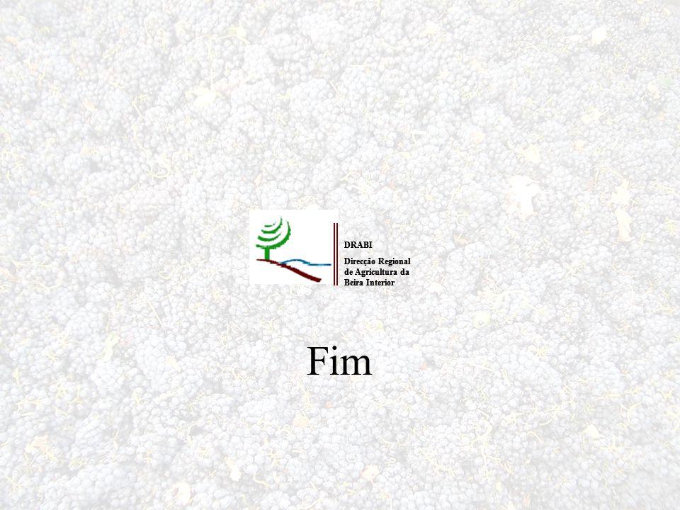 Fim DRABI Direcção Regional de Agricultura da Beira Interior DRABI Direcção Regional de Agricultura da Beira Interior
