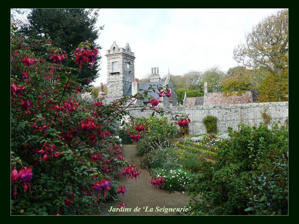 'La Seigneurie' - o castelo feudal de Sark
