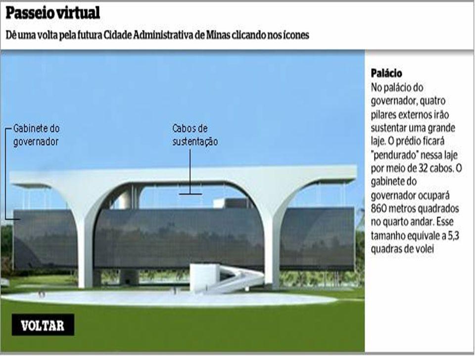Do ponto de vista arquitetônico, a obra pode ser considerada um marco. Assim que estiver pronto, os mineiros poderão pleitear uma citação no livro dos