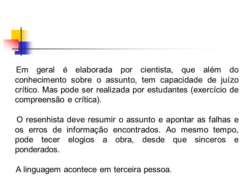 1.OBRA a. Autoria (autor ou autores) b. Título (incluindo subtítulo, se houver) c.