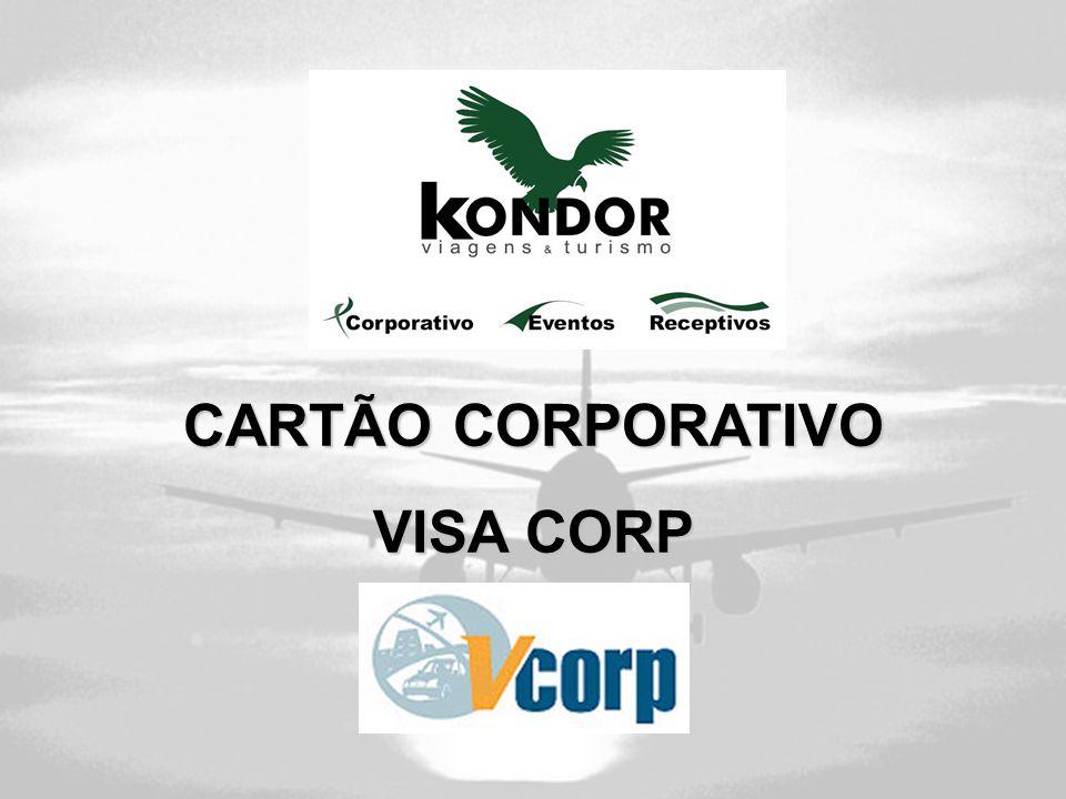 CARTÃO CORPORATIVO VISA CORP