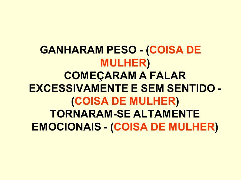 A TEORIA É DE QUE: