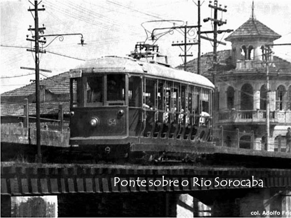 Ponte sobre o Rio Sorocaba