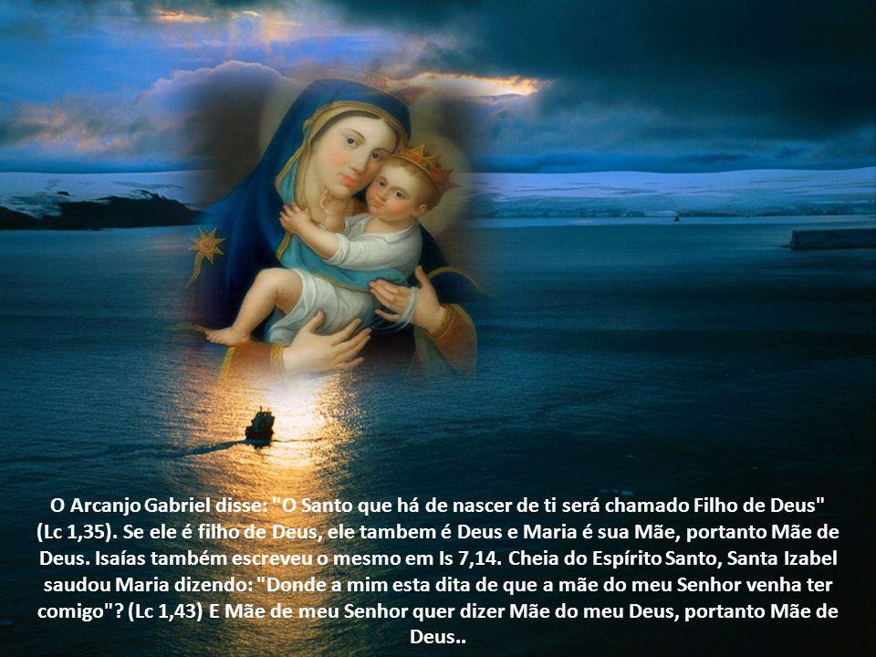 Vejamos o que a Sagrada Escritura ensina sobre a Maternidade Divina de Nossa Senhora: O profeta Isaías escreveu: