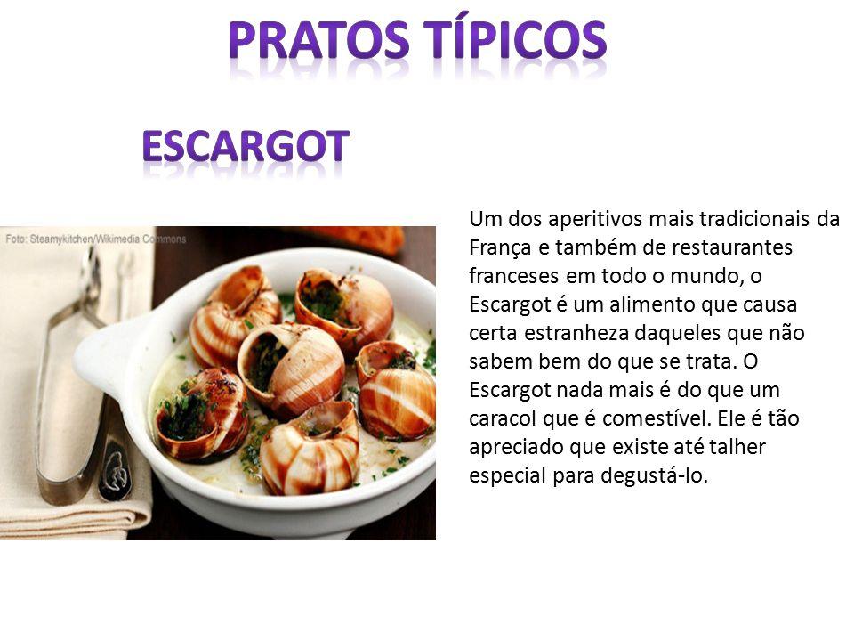 Um dos aperitivos mais tradicionais da França e também de restaurantes franceses em todo o mundo, o Escargot é um alimento que causa certa estranheza