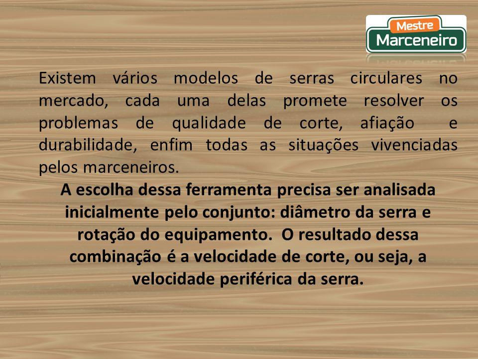 Embora a Serra Circular pareça ser de fácil manejo, não pode ser utilizada pôr pessoas não habilitadas e qualificadas, pois é uma das máquinas que oferece muitos riscos de acidentes.