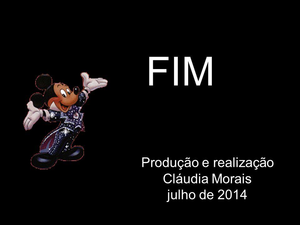 FIM Produção e realização Cláudia Morais julho de 2014