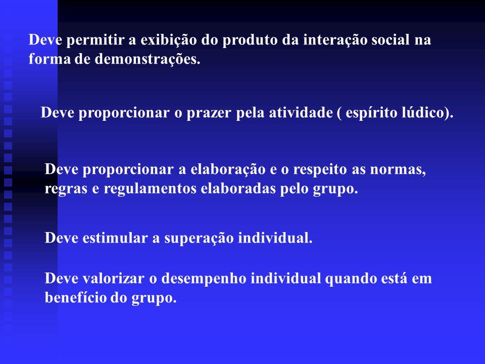 Deve promover a cooperação e participação.