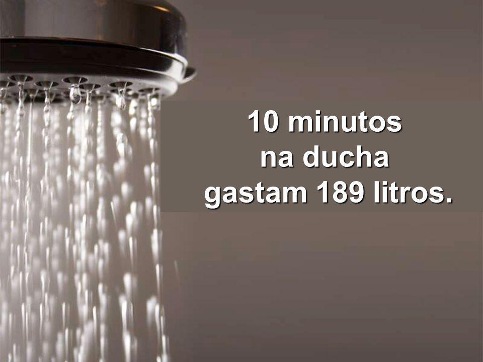 Uma só lavagem na máquina consome 151 litros...