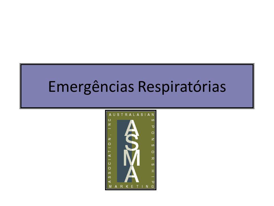 Emergências Respiratórias