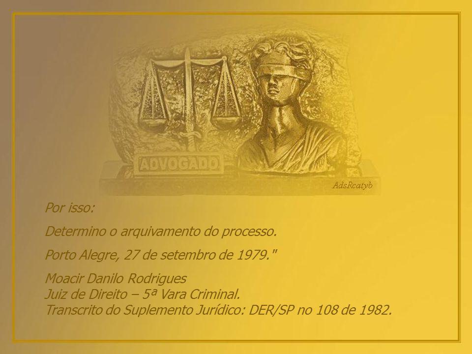 Marco Antônio(?), apesar da imponência do nome, é miúdo. E sempre será. Sua esperança? Talvez o Reino do Céu. A lei é injusta. Claro que é. Mas a Just