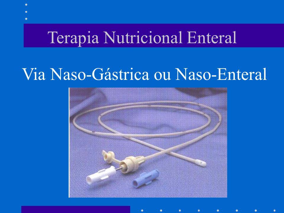 Terapia Nutricional Enteral Via Naso-Gástrica ou Naso-Enteral