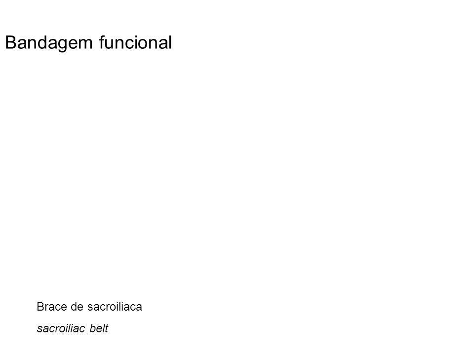 Brace de sacroiliaca sacroiliac belt Bandagem funcional