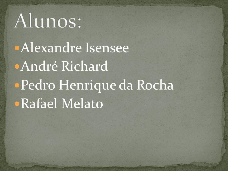 Alexandre Isensee André Richard Pedro Henrique da Rocha Rafael Melato
