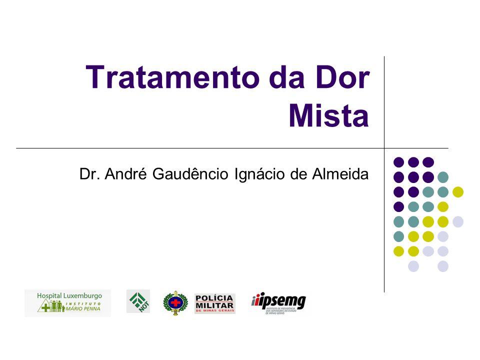 Tratamento da Dor Mista Dr. André Gaudêncio Ignácio de Almeida
