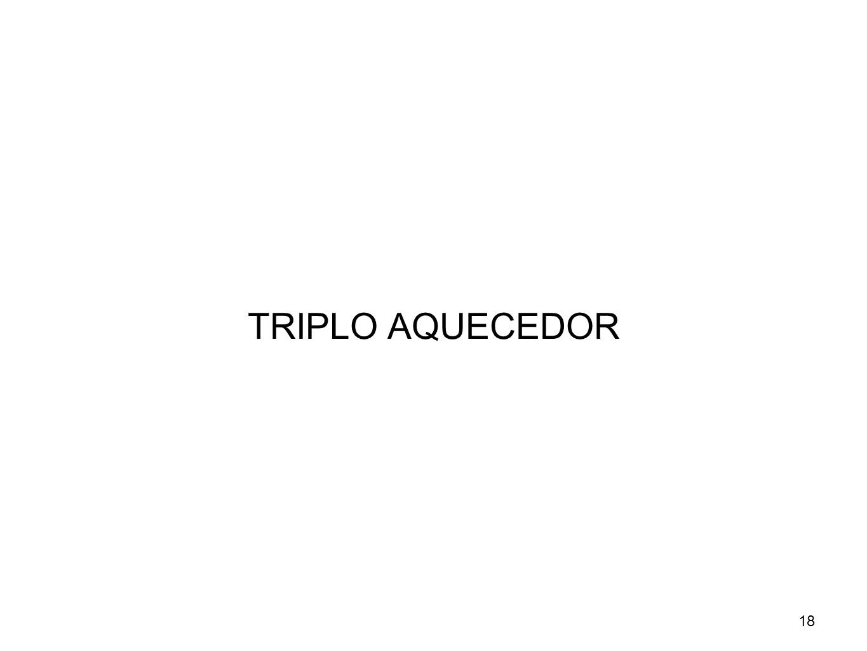 18 TRIPLO AQUECEDOR