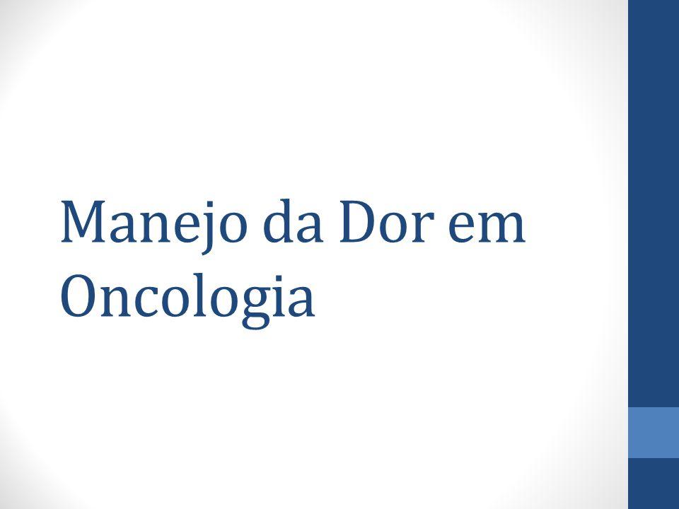 Manejo da Dor em Oncologia