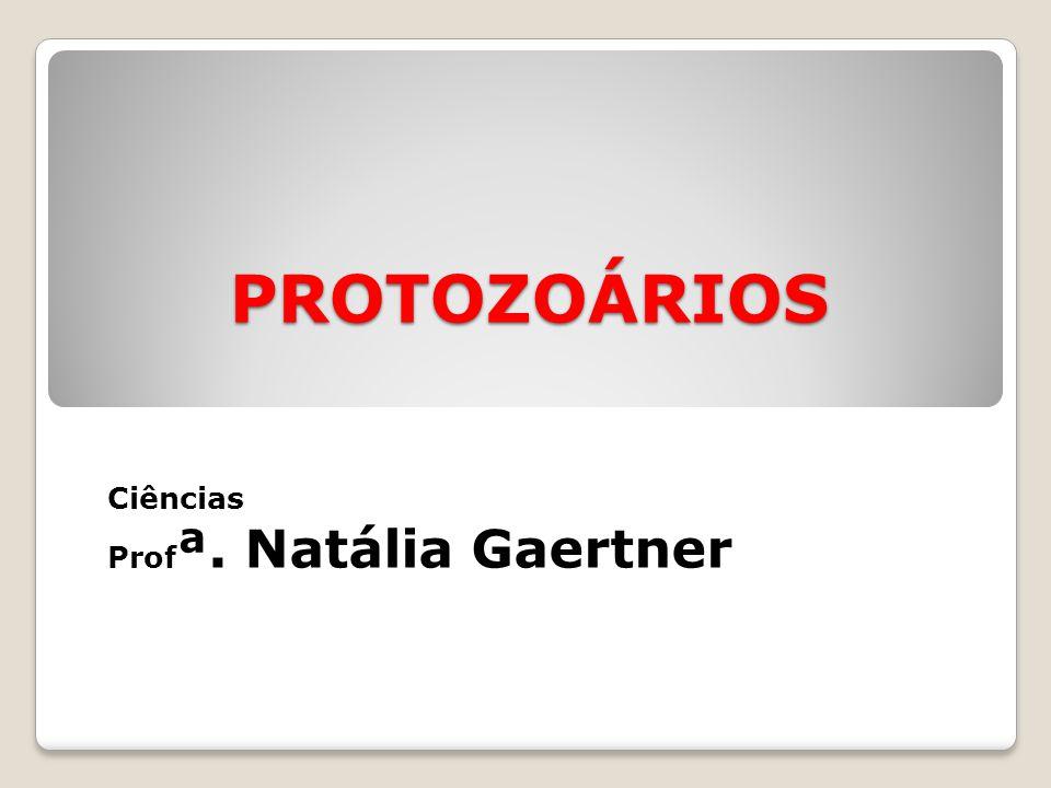 PROTOZOÁRIOS Ciências Prof ª. Natália Gaertner