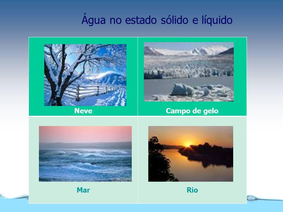 Quanto às suas características, a água pode ser : Qualidade da água
