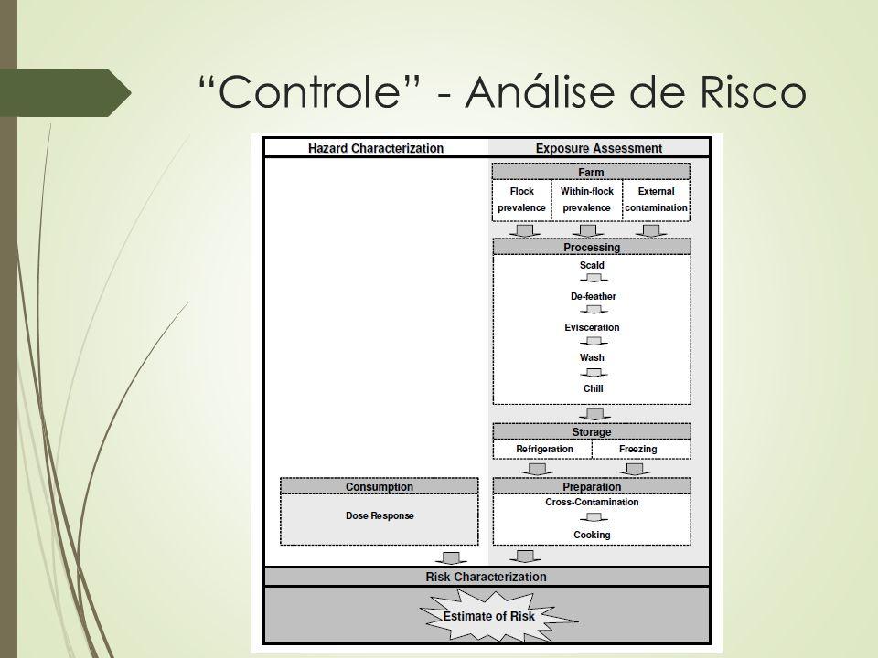 """Controle"" - Análise de Risco"