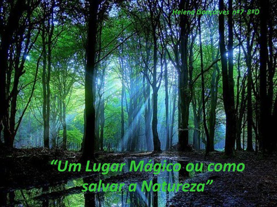 """""""Um Lugar Mágico ou como salvar a Natureza"""" Helena Gonçalves nº7 8ºD"""