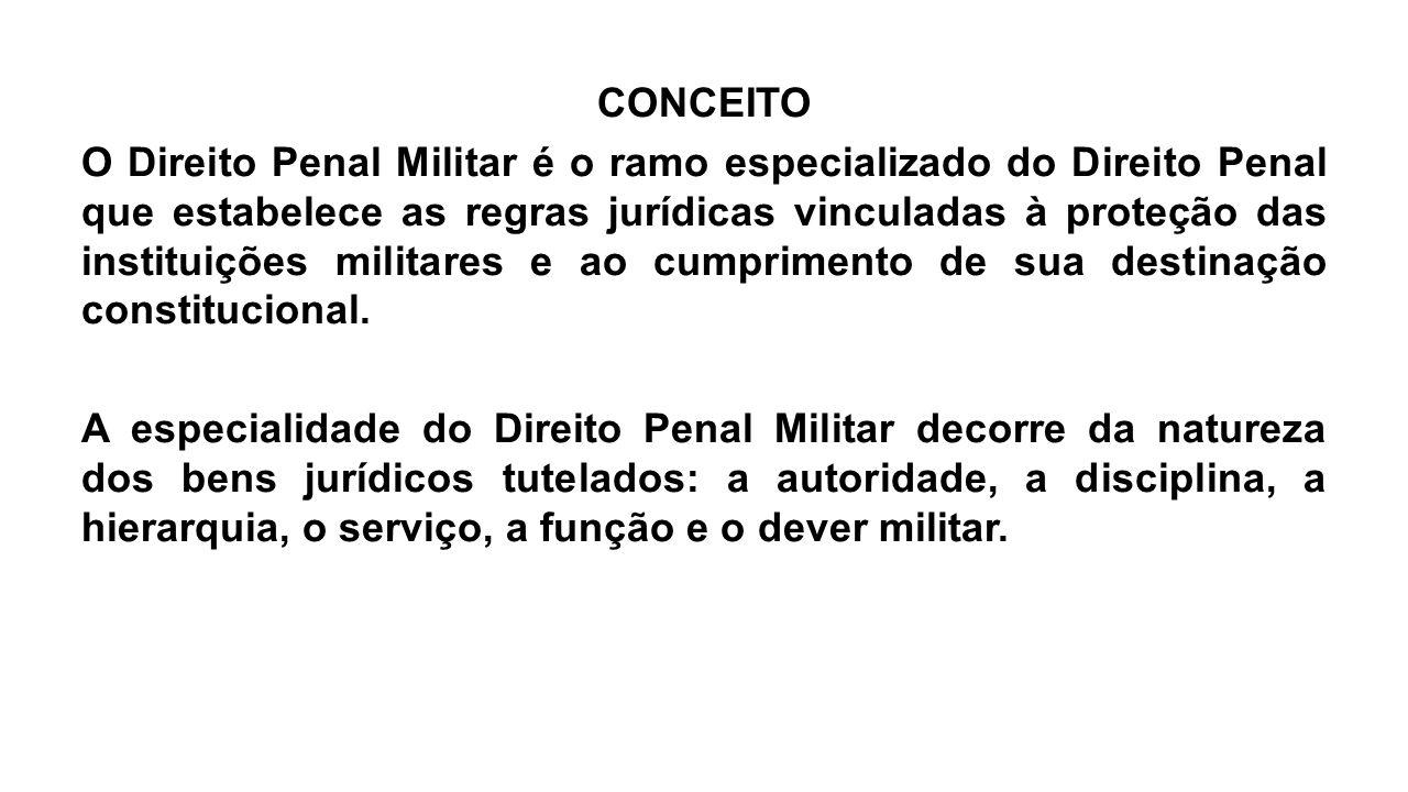 Ratione legis: é crime militar aquele elencado no Código Penal Militar.