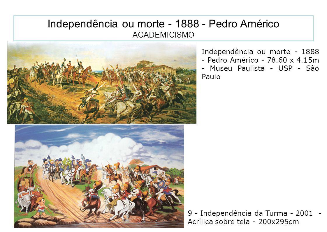16 Independência ou morte - 1888 - Pedro Américo - 78.60 x 4.15m - Museu Paulista - USP - São Paulo Independência ou morte - 1888 - Pedro Américo ACAD